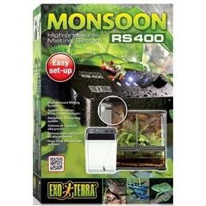 Amazon Com Exo Terra Monsoon Rs400 Rainfall System Pet