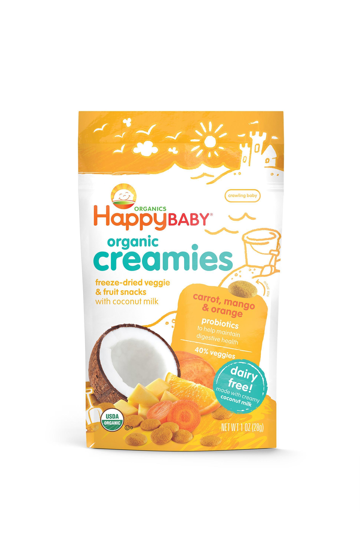 Amazon Com Happy Baby Organic Creamies Freeze Dried