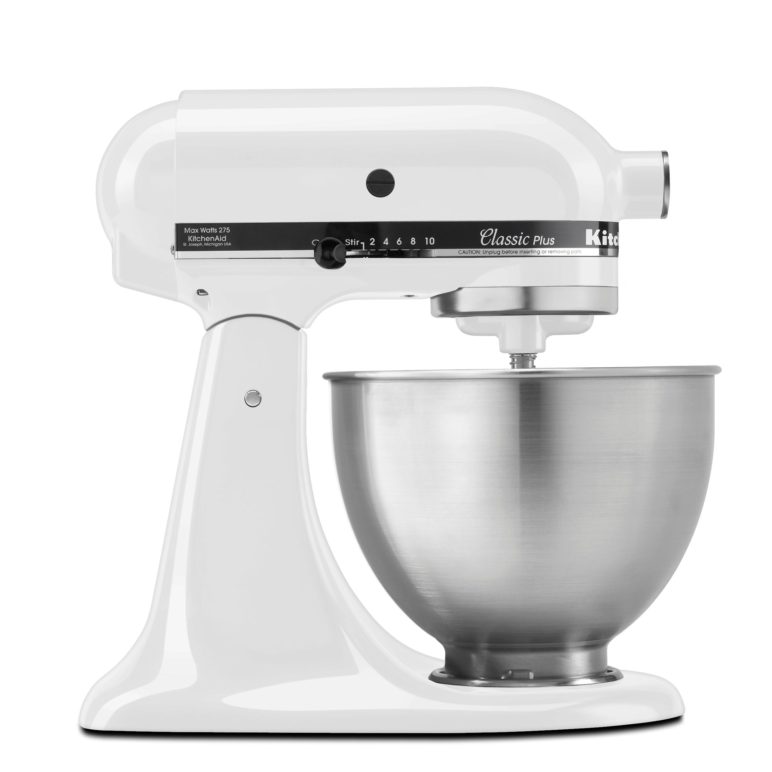 Amazon Com Kitchenaid Ksm75wh 4 5 Qt Classic Plus Stand