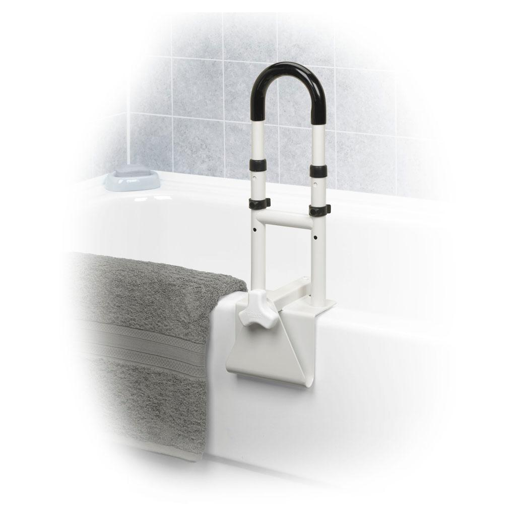 Tub Grab Bar Clamp On: View Larger