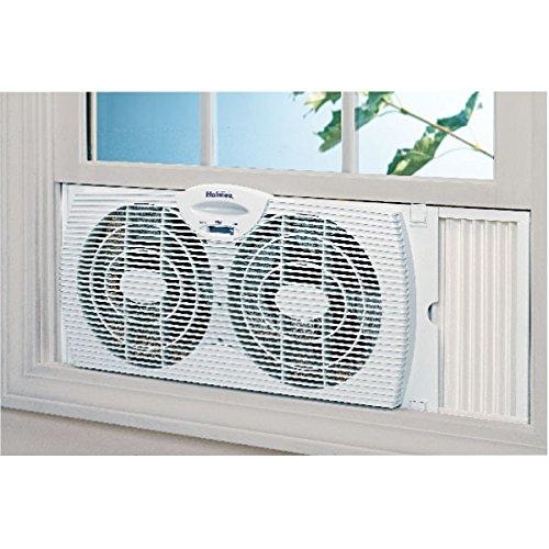 Twin Window Fan Cooler Air 2 Speeds Water Resistant Ebay