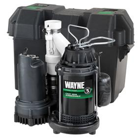 Wayne Wss30v Pre Assembled 120 12v 1 2 Hp Primary And