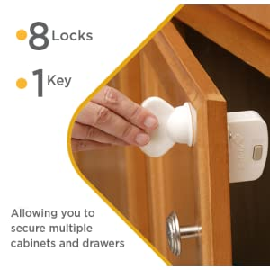 Amazon Com Safety 1st Magnetic Locking System 1 Key And
