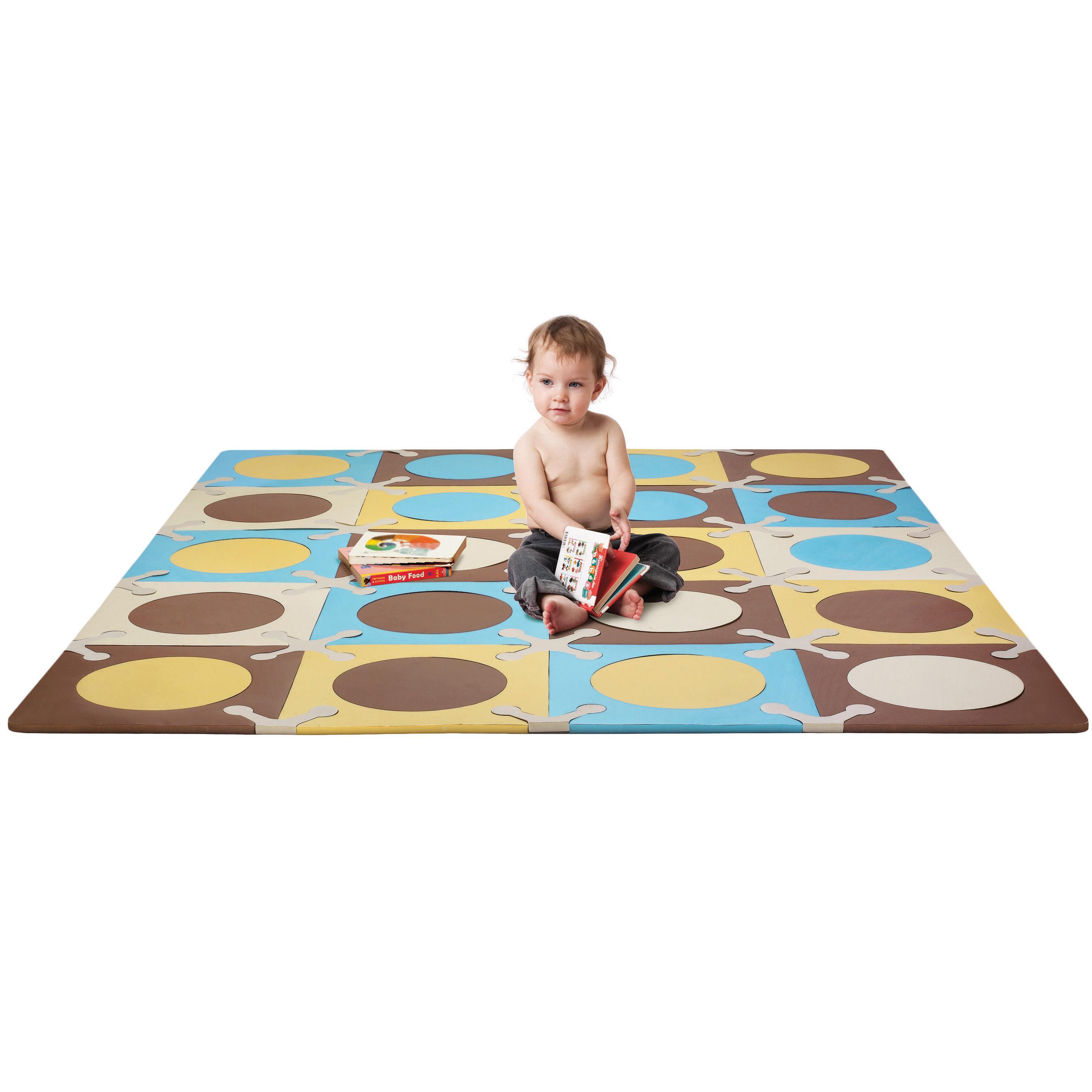 Amazon Com Skip Hop Playspot Floor Mat Blue Gold 20