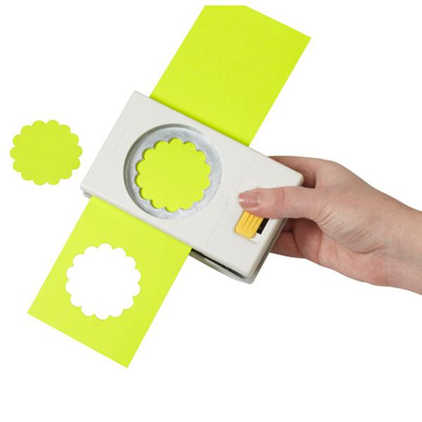Expand your circle punch collection with the ek tools Circle Punch It makes a large enough circle to create a beautiful base for nesting circles