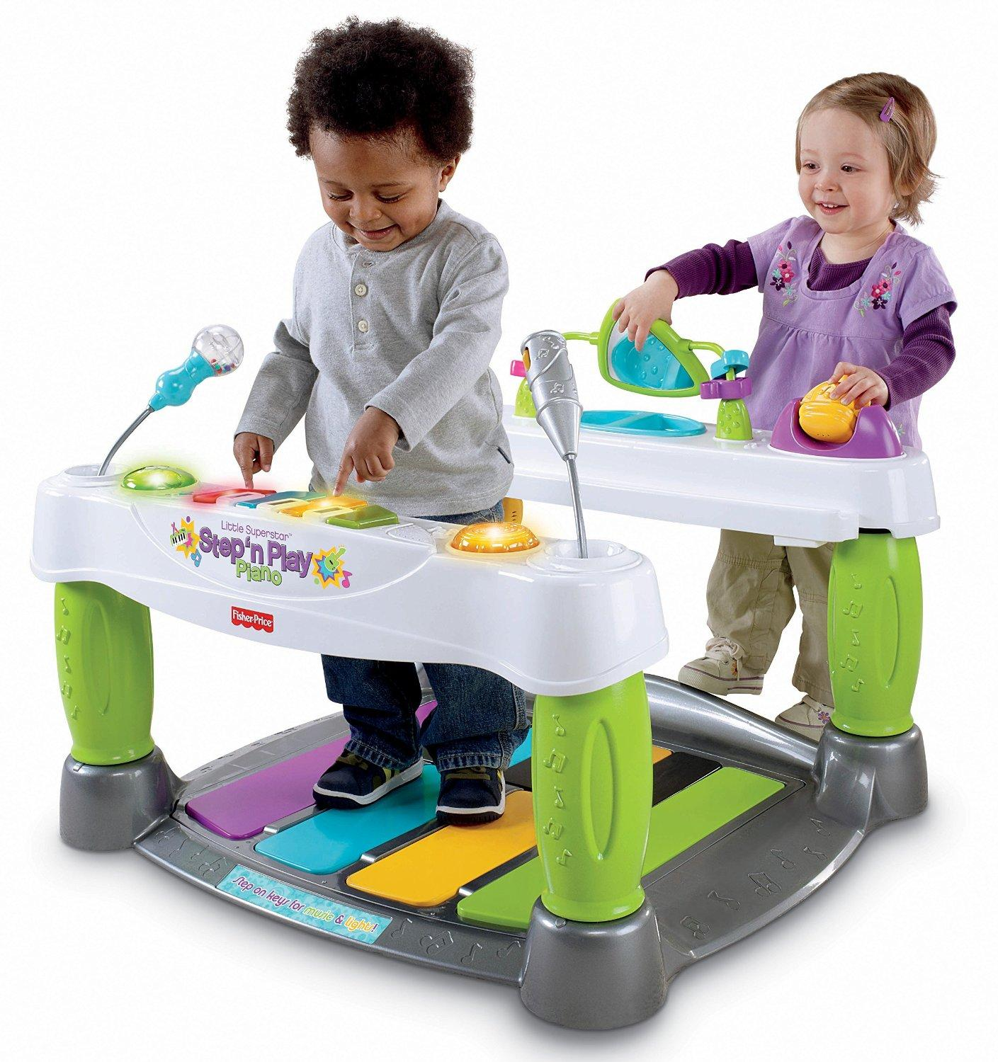 Amazon.com : Fisher-Price Little Superstar Step N' Play