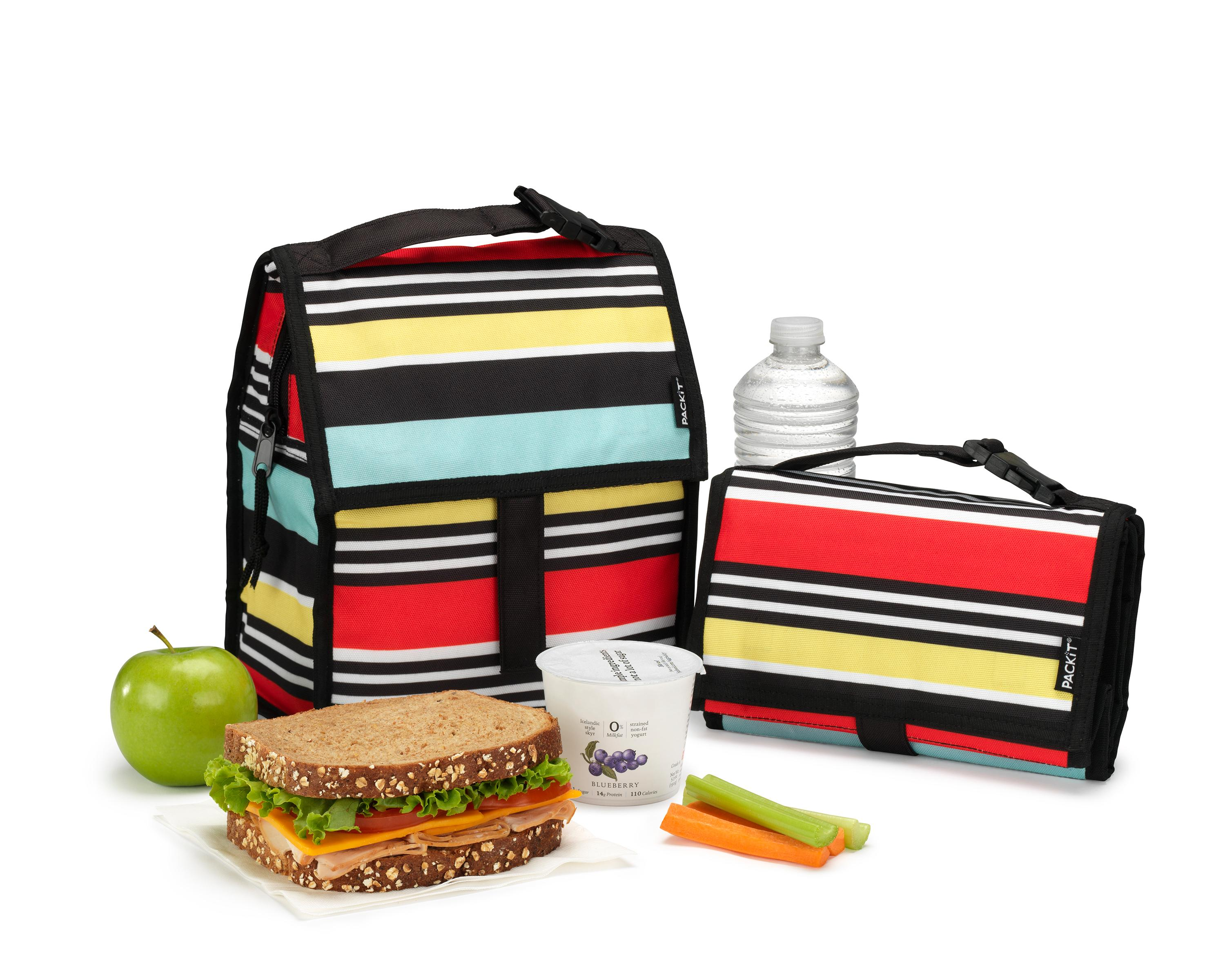Amazon Com Packit Freezable Lunch Bag With Zip Closure