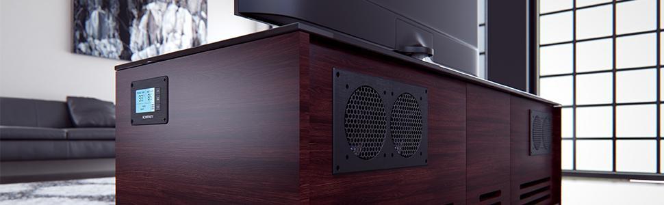 Amazon Com Ac Infinity Ai Atc Fan Thermostat And Speed