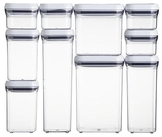 Amazon Com Oxo Good Grips Pop Square 0 3 Quart Storage