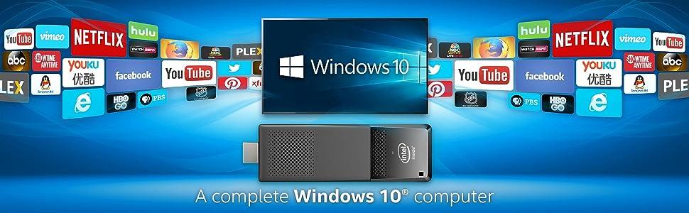 Intel, Compute Stick, Intel Atom, Windows 10