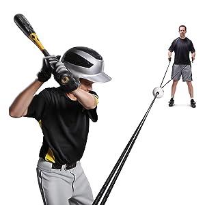 Amazon Com Sklz Zip N Hit Baseball Trainer Baseball