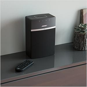 bose soundtouch 10 wireless music system white electronics. Black Bedroom Furniture Sets. Home Design Ideas
