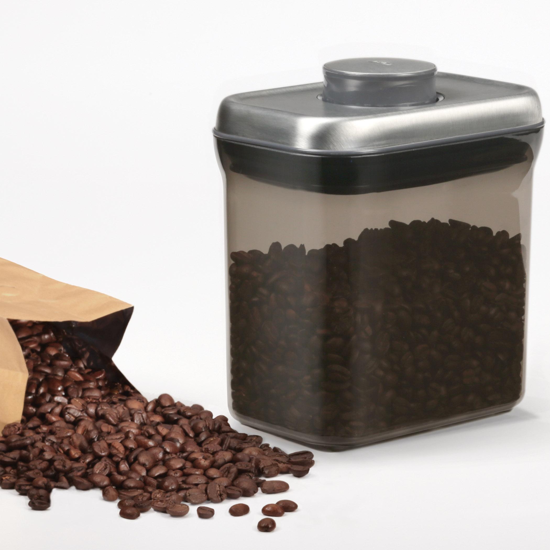 Amazon Com Oxo Good Grips Coffee Pop Container 1 5 Quart
