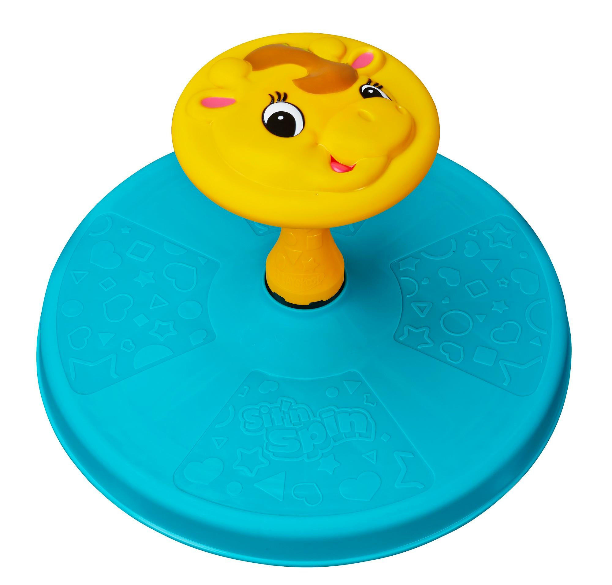 New Playskool Giraffalaff Sit N Spin Elefun Amp Friends
