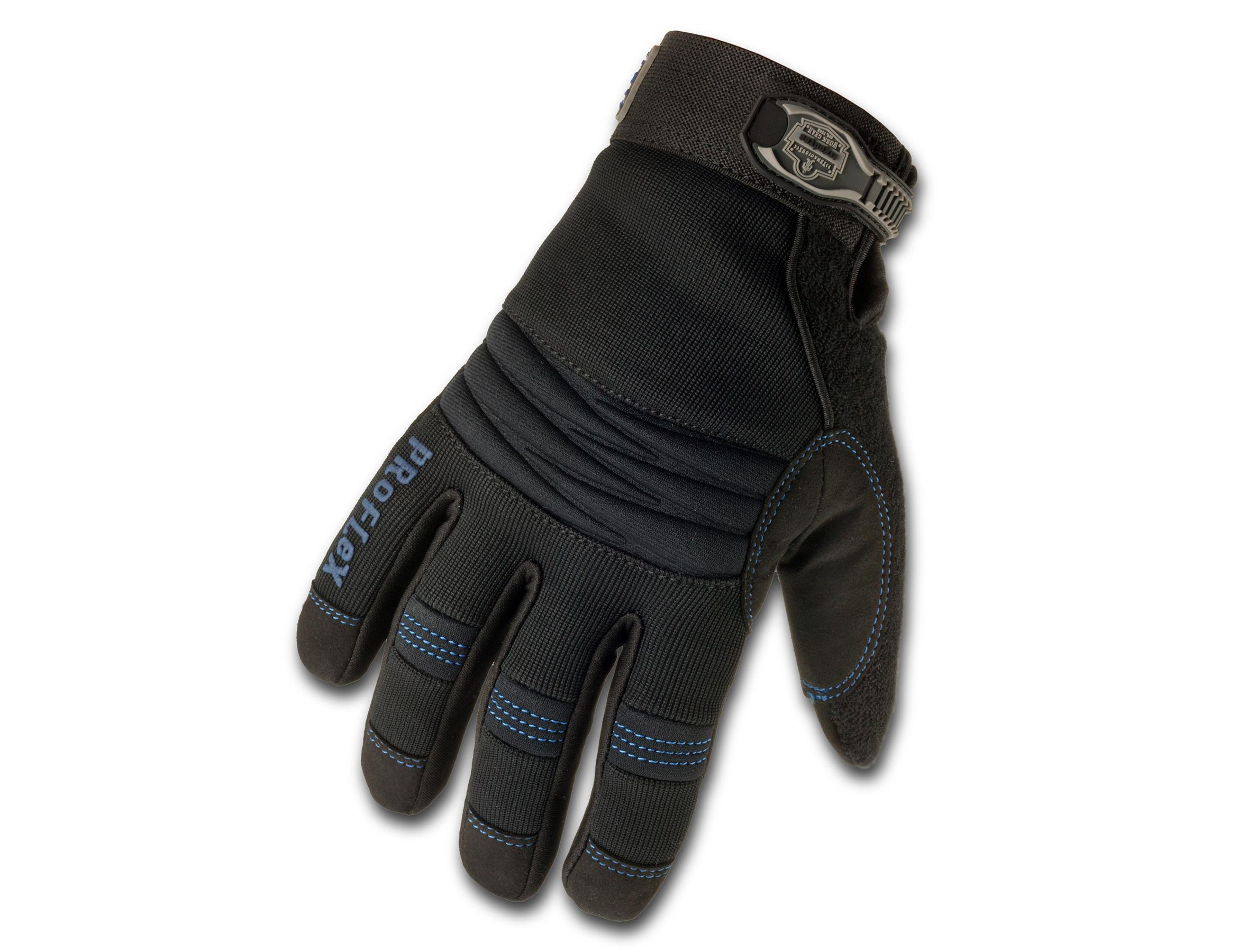 ProFlex 818WP Thermal Waterproof Utility Glove, Black