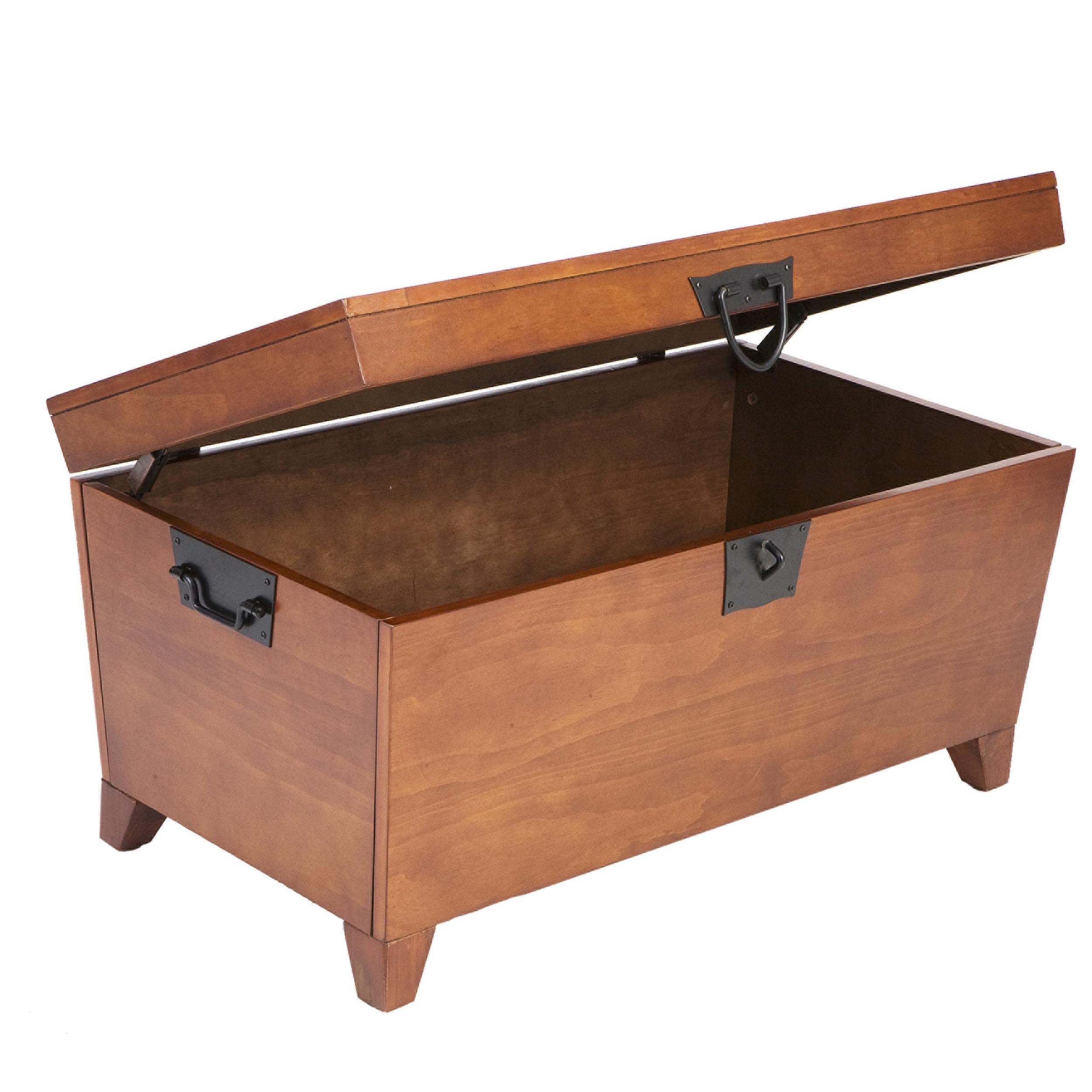 SEI Pyramid Trunk Cocktail Table