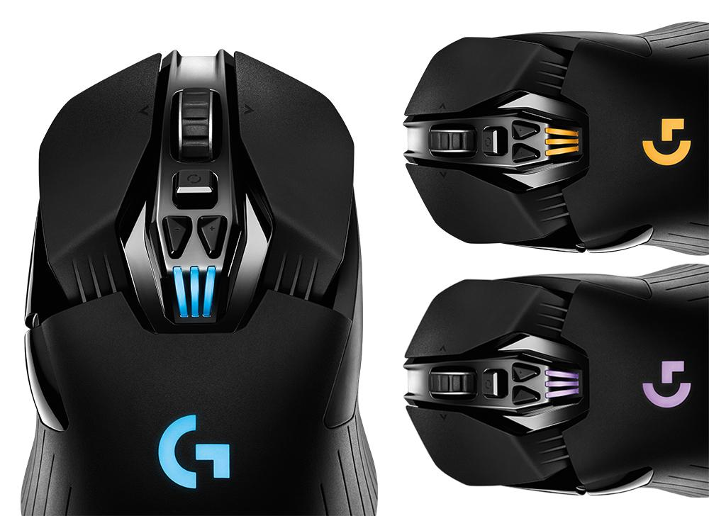 logitech g900 chaos spectrum professional grade wired wireless gaming mouse 910. Black Bedroom Furniture Sets. Home Design Ideas