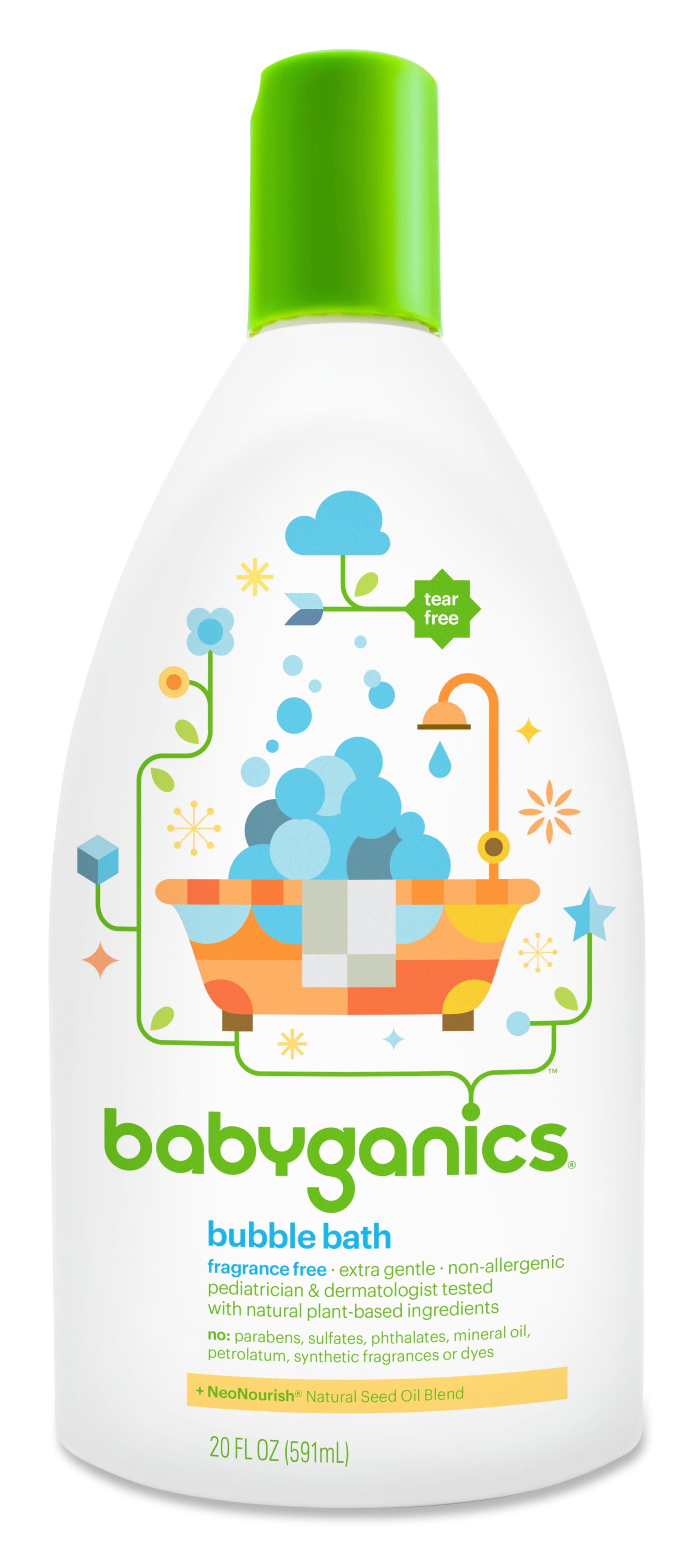 Amazon Com Babyganics Baby Bubble Bath Fragrance Free