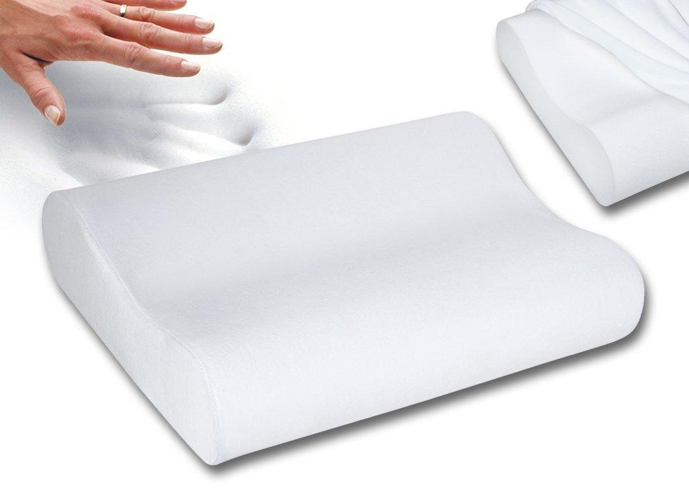 Amazon.com: Sleep Innovations Contour Memory Foam Pillow