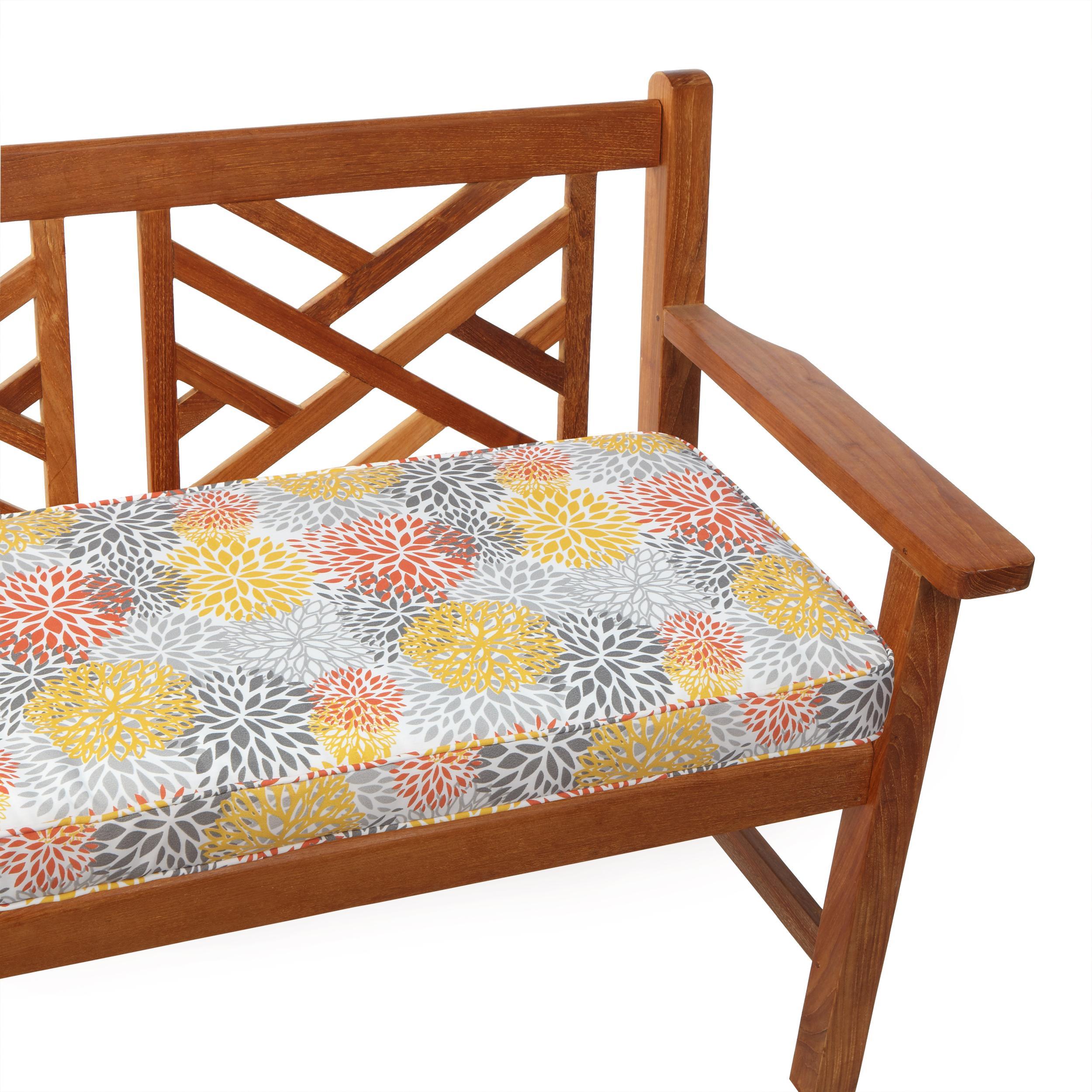 Amazon.com : Mozaic Sabrina Indoor/Outdoor Bench Cushion ...