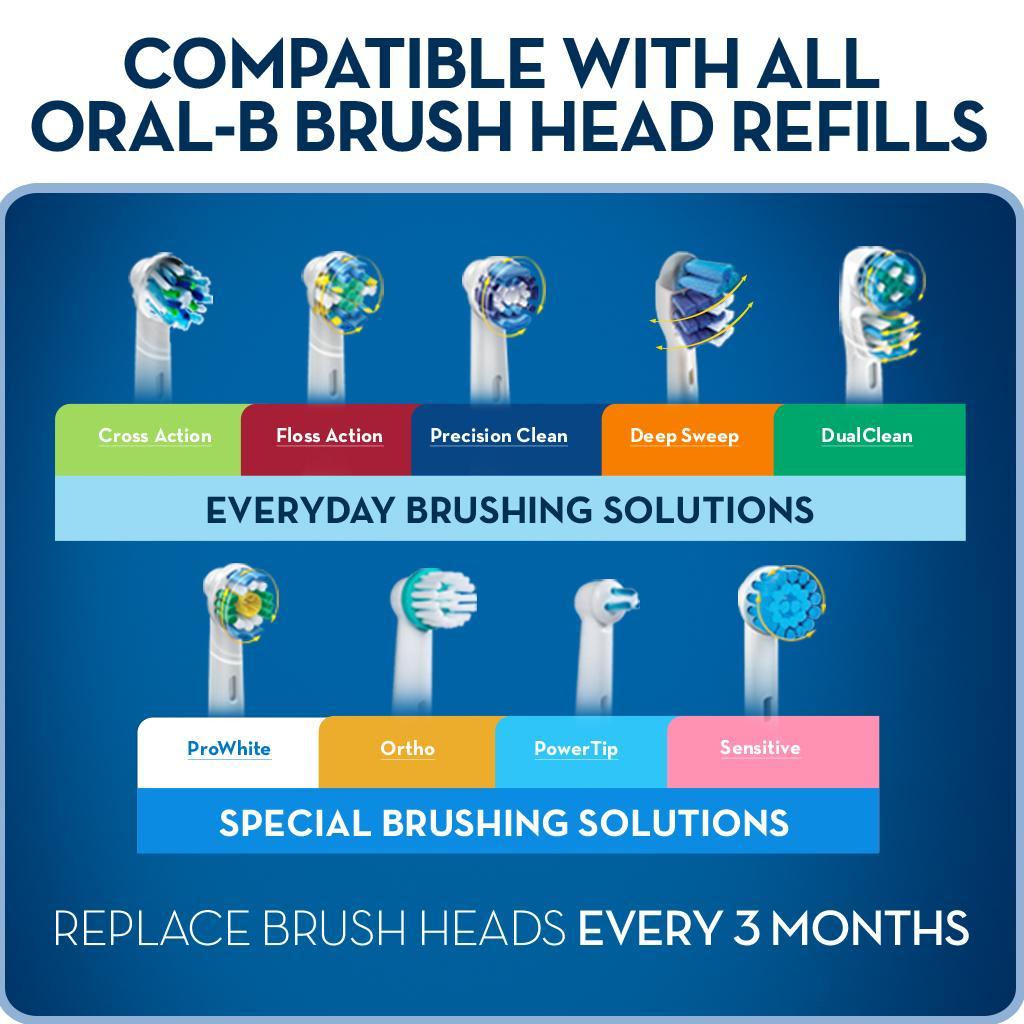 Amazon Com Oral B Pro 5000 Smartseries Electronic Power