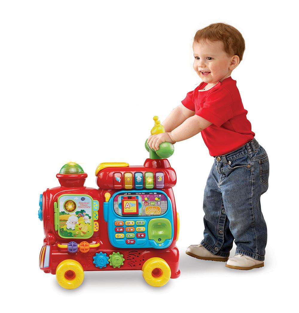 The Train Engine Becomes A Baby Learning Walker As Your
