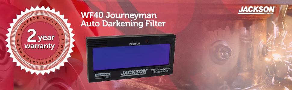Jackson Safety Journeyman Auto Darkening Welding Filter ...