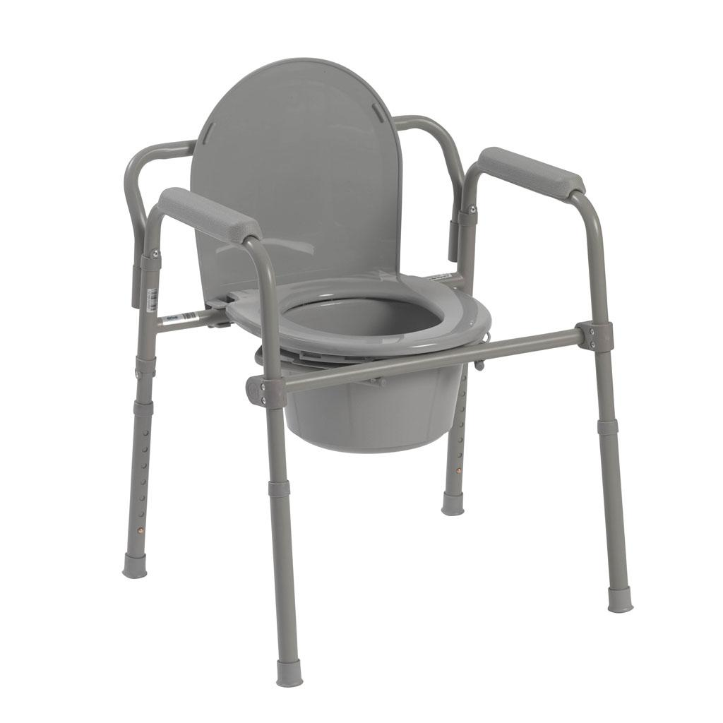 Folding Commode Chair View larger