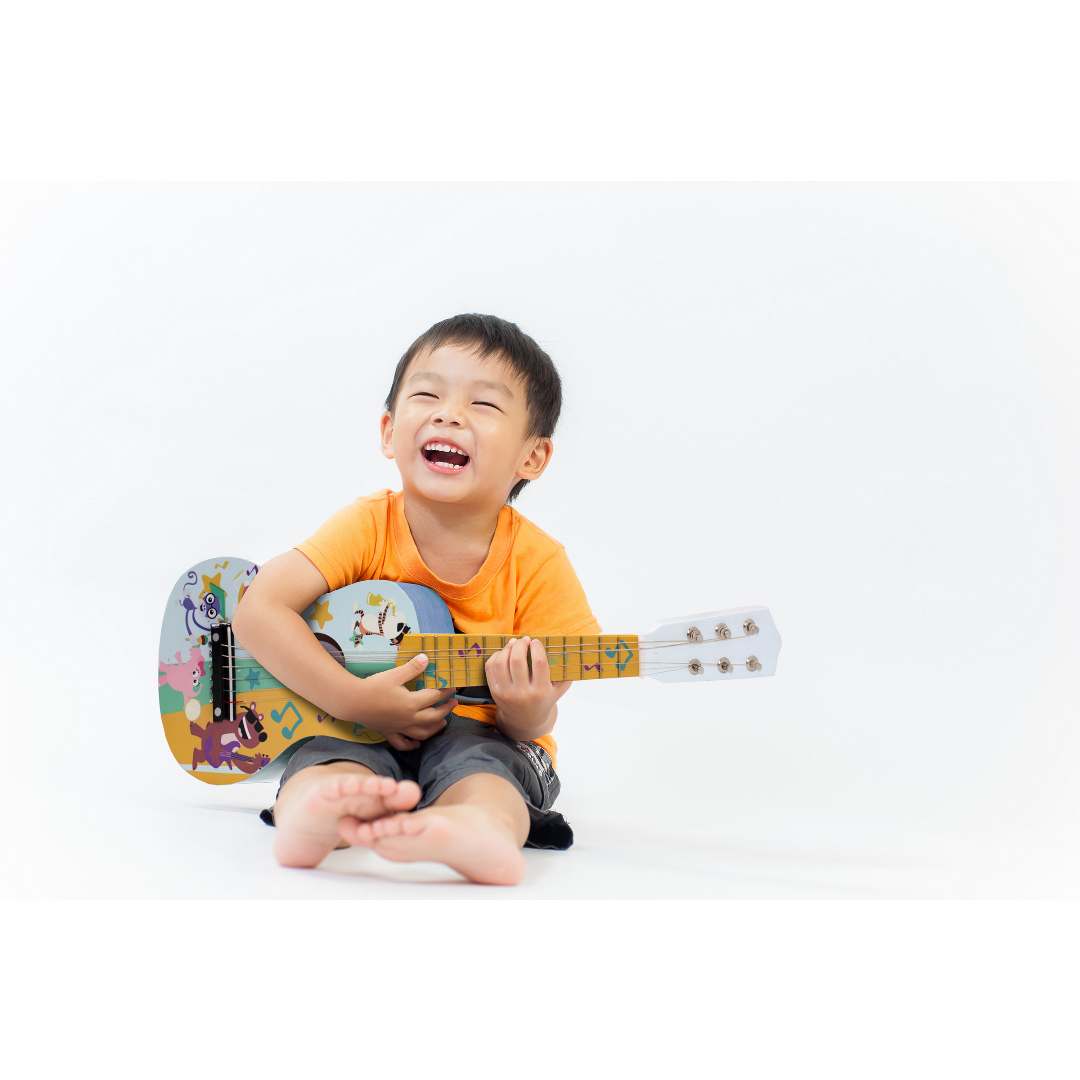 baby genius my first guitar as kids transition from infant to toddler to preschool every waking. Black Bedroom Furniture Sets. Home Design Ideas