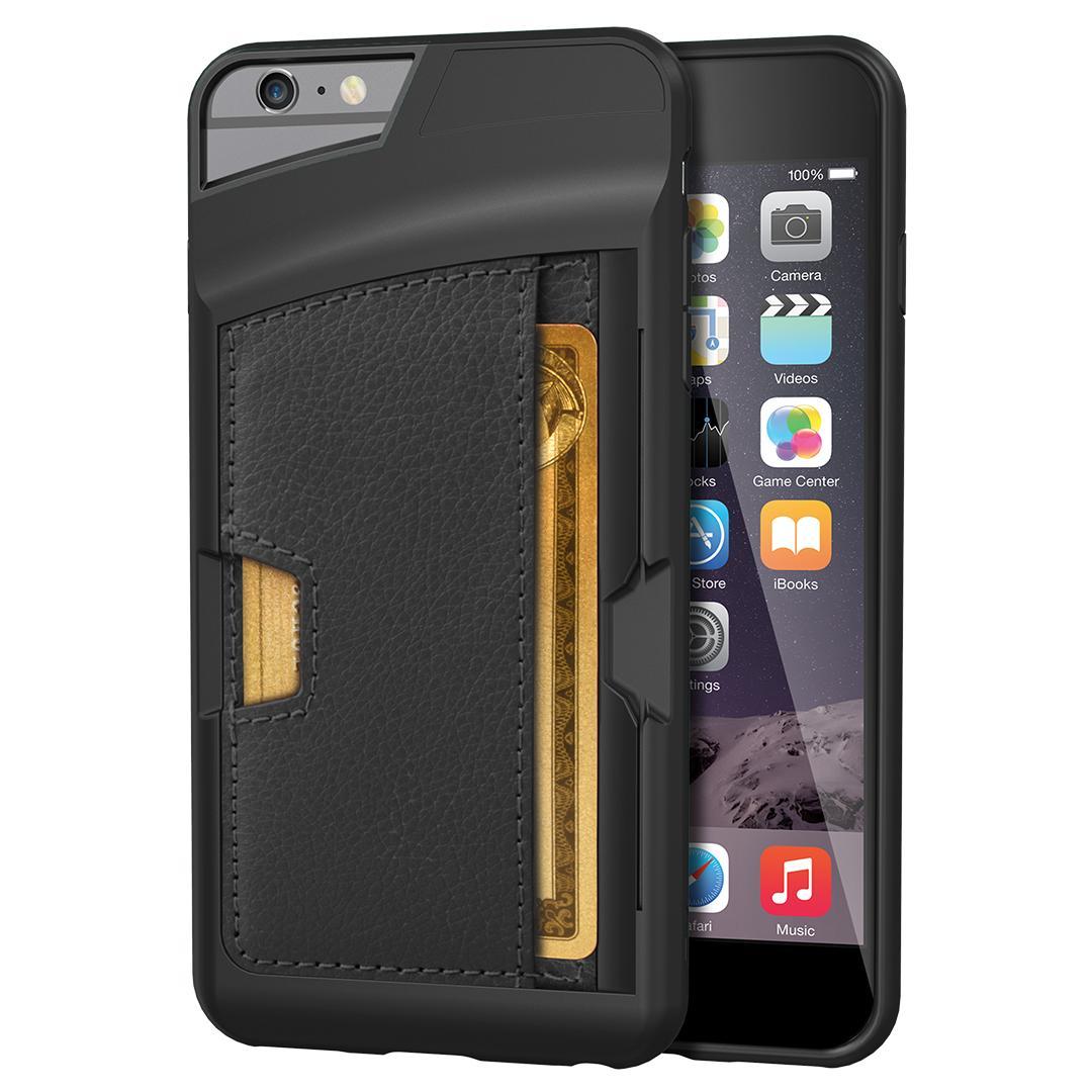 Amazon.com: iPhone 6 Plus/6s Plus Wallet Case - Q Card