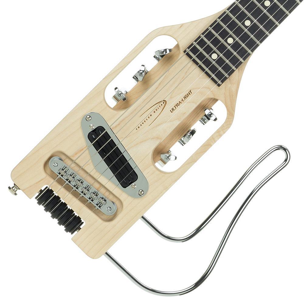traveler guitar ultra light electric travel guitar with gig bag musical instruments. Black Bedroom Furniture Sets. Home Design Ideas