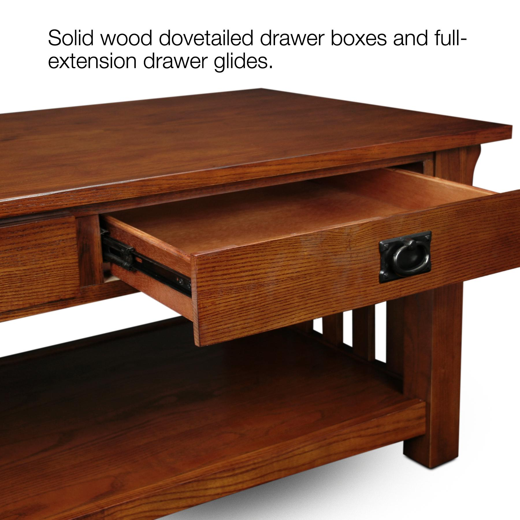 Coffee Table With Gun Drawer Plans: End Table, Side Table, Chairside Table, Living Room Furniture