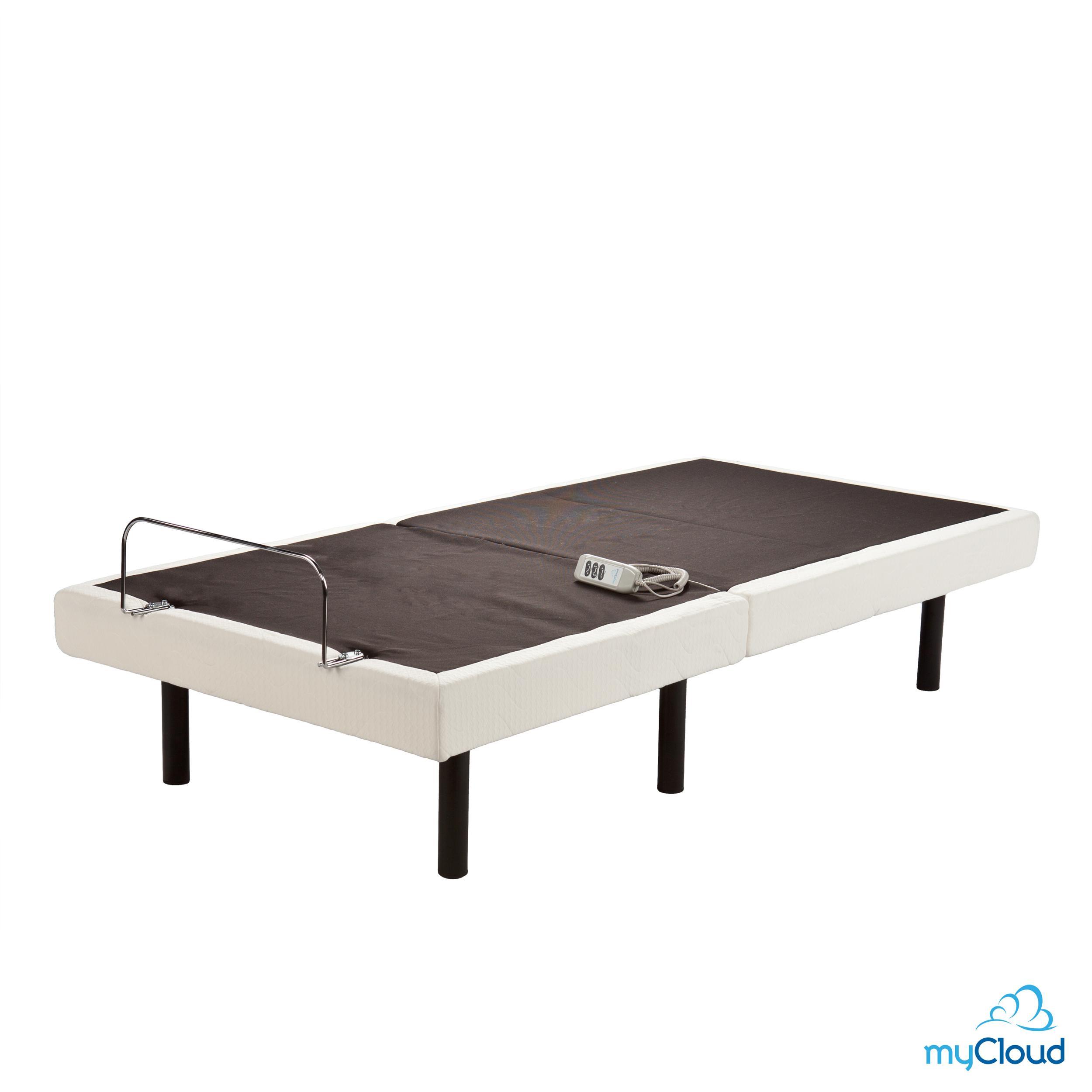 southern enterprises mycloud adjustable bed frame twin x large kitchen dining. Black Bedroom Furniture Sets. Home Design Ideas