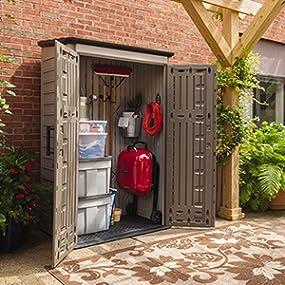 Amazon Com Rubbermaid Horizontal Storage Shed 32 Cubic