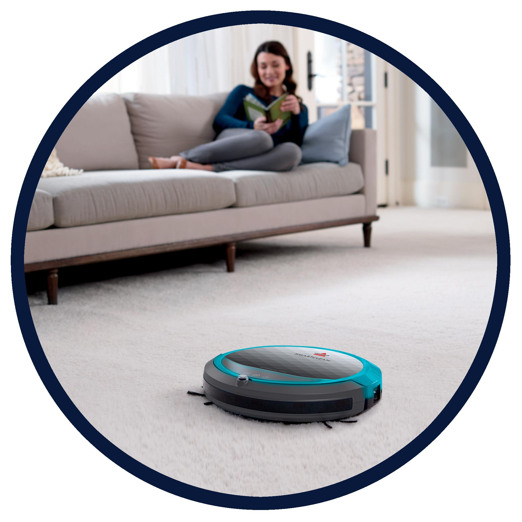 Amazon Com Bissell Smartclean 1605 Vacuum Cleaning Robot