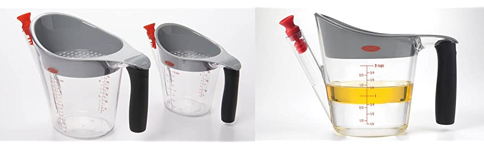 Amazon Com Oxo Good Grips 4 Cup Fat Separator Food