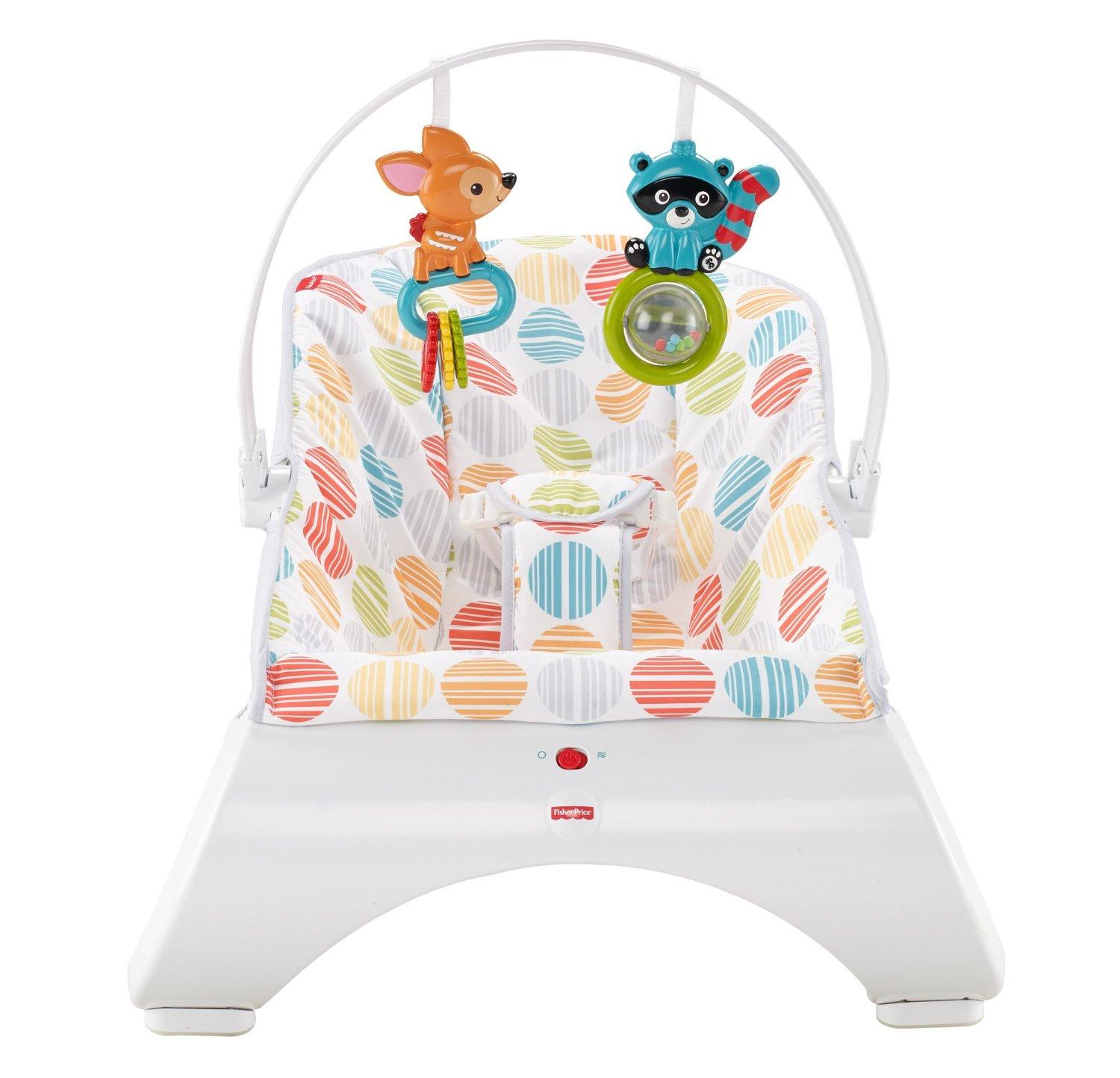Baby Comfy Seat Overhead Toys Fisher Price Comfort Curve