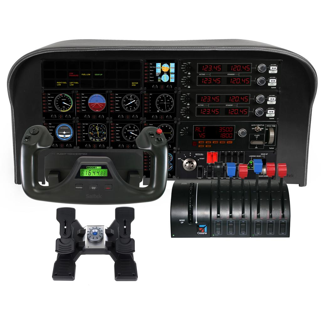 Saitek PC Pro Flight Multi Panel - Buy Saitek PC Pro Flight