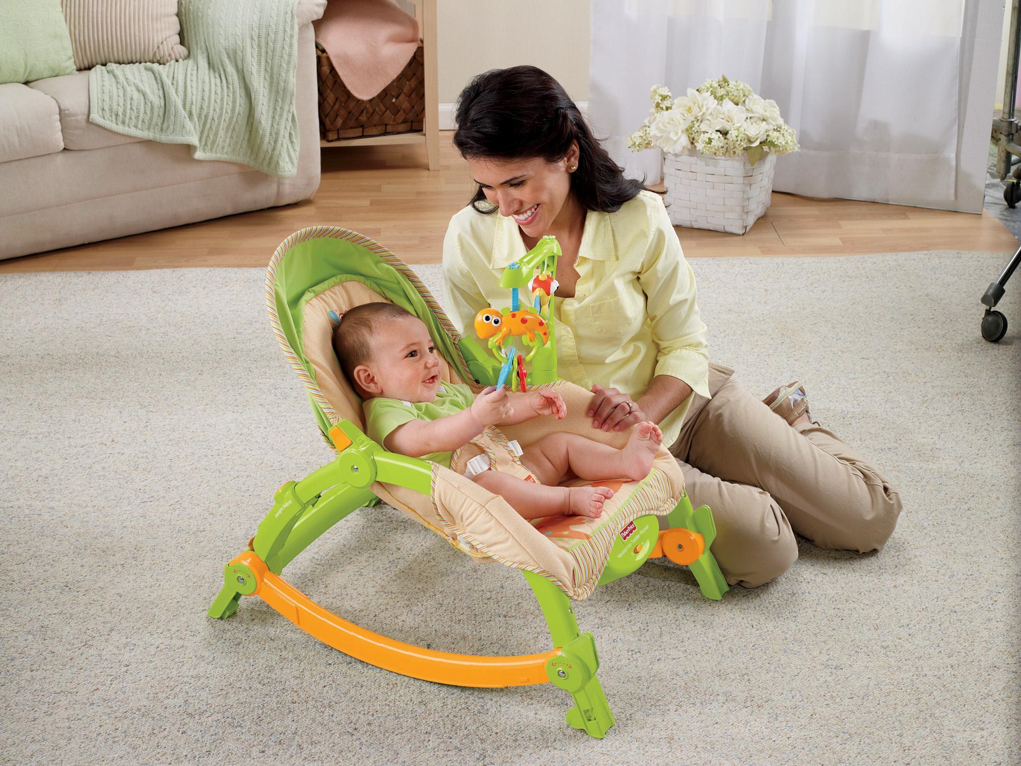 Amazon.com : Fisher-Price Newborn-to-Toddler Portable