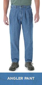 Wrangler Men S Rugged Wear Classic Fit Jean Prewashed