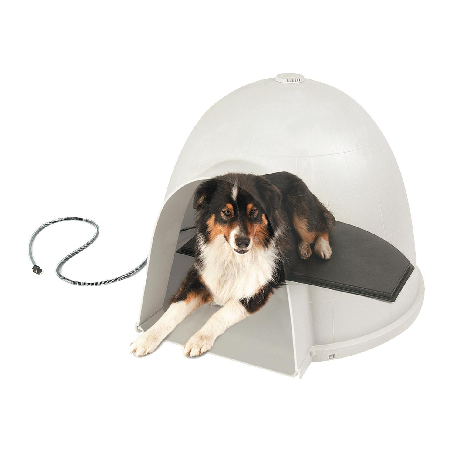 Amazon Com K Amp H Lectro Kennel Igloo Style Heated Pad