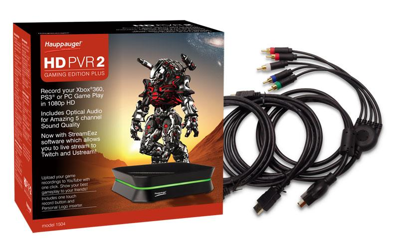 Hauppauge - HD PVR 2 Gaming Edition High Definition Game Capture