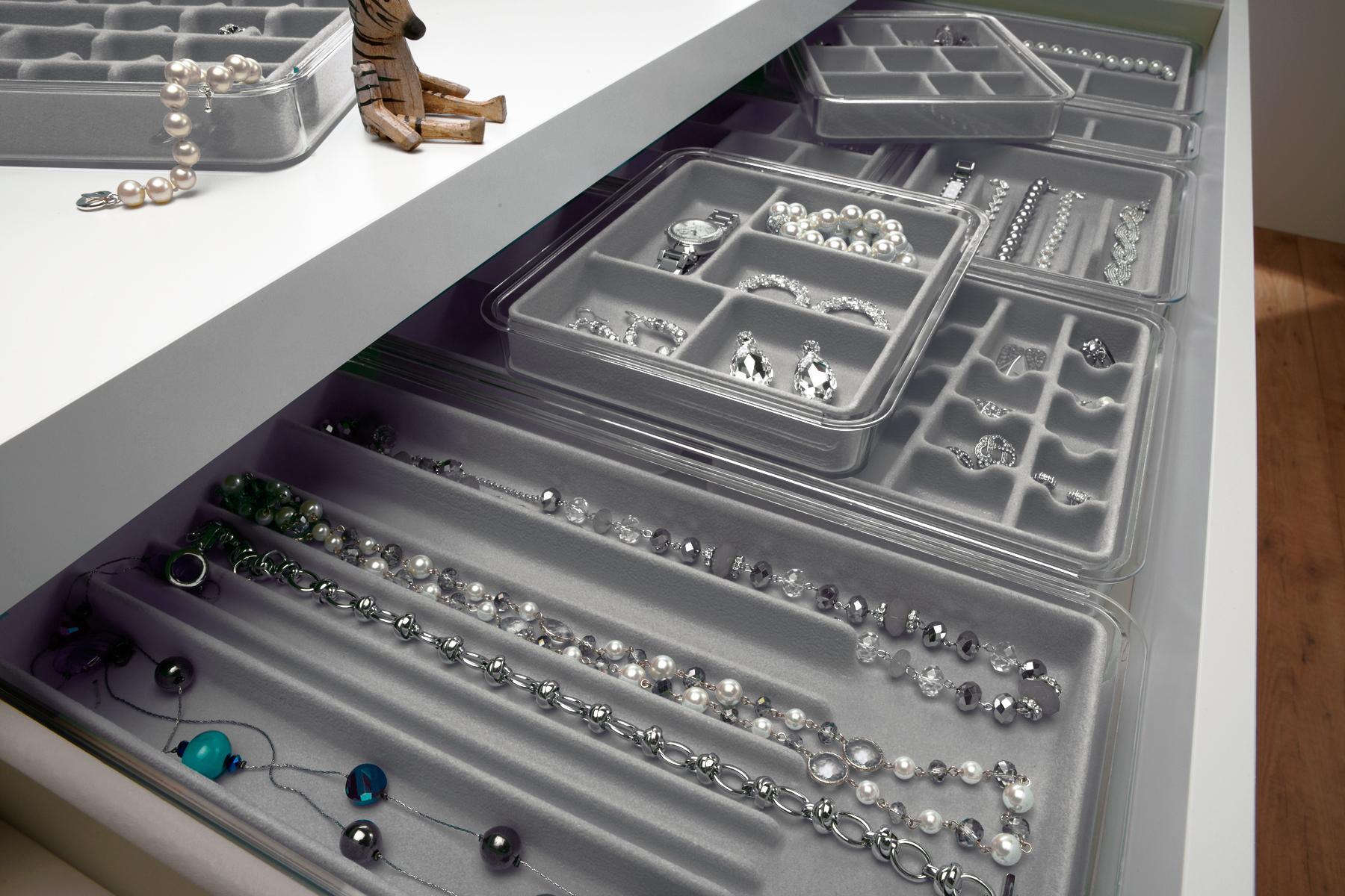 Amazon Com Neatnix Jewelry Stax Necklace Organizer Tray