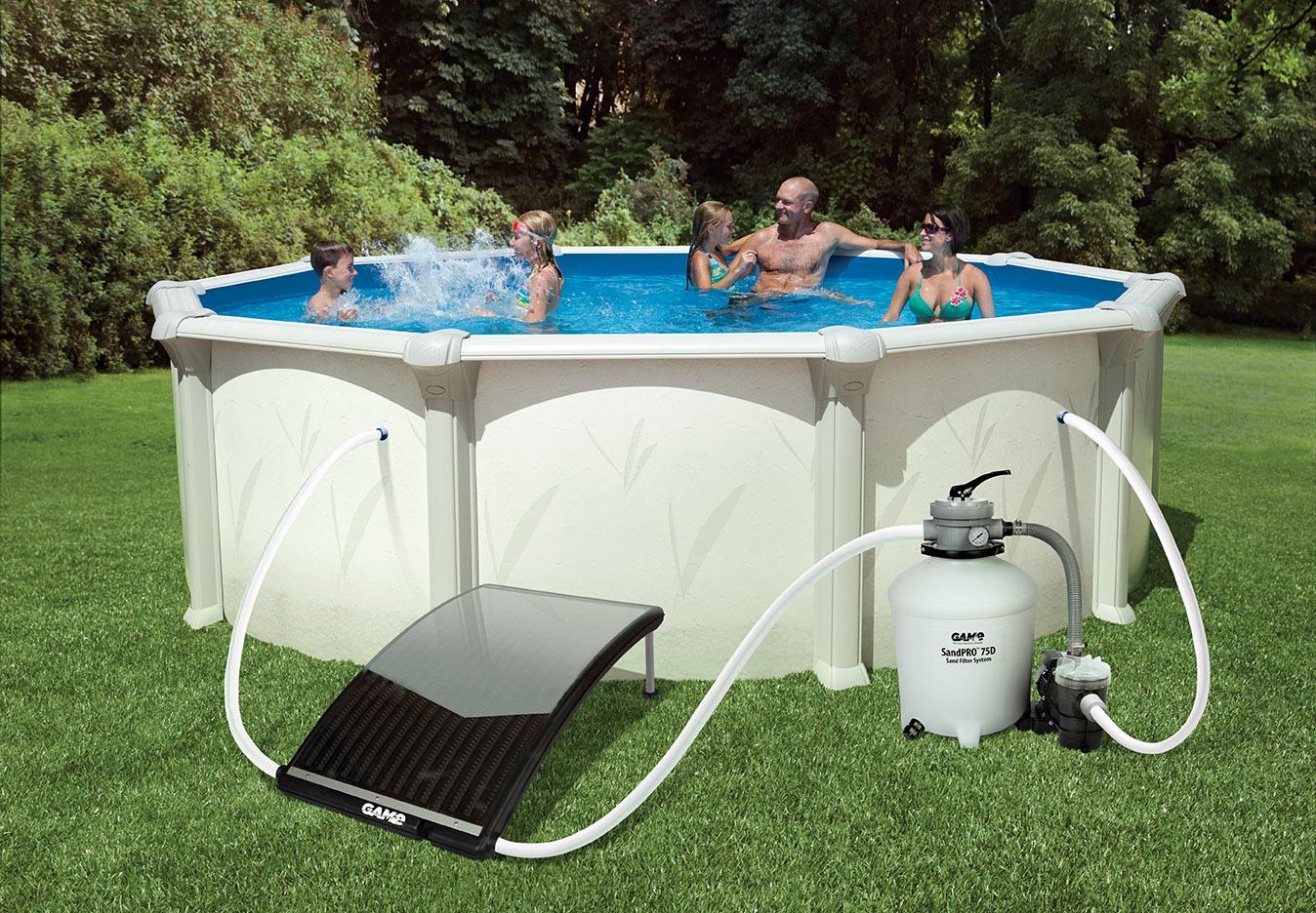 Amazon Com Game 4721 Solarpro Curve Solar Pool Heater