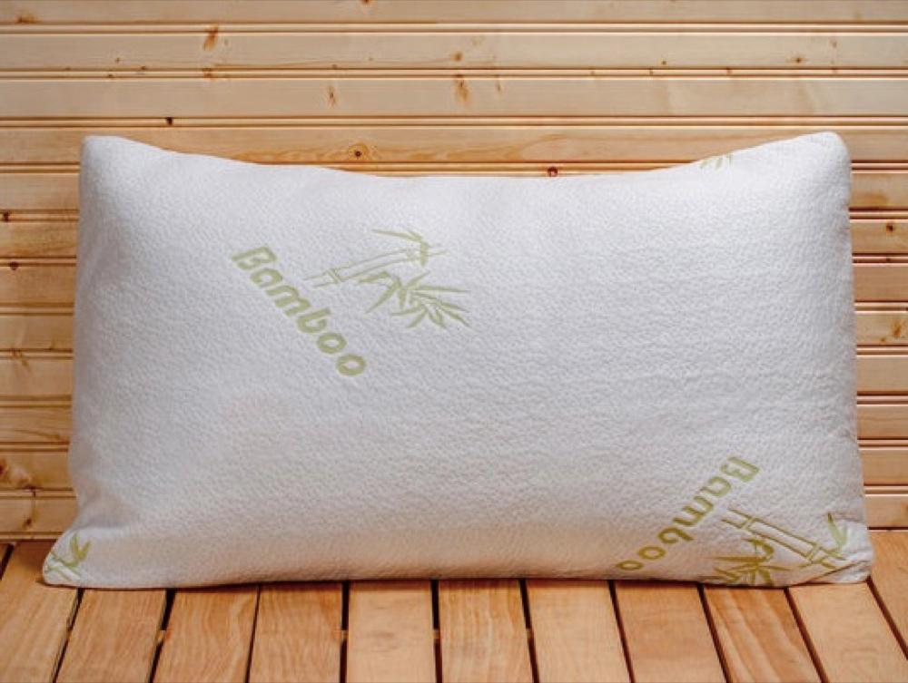 Bamboo Pillow Memory Foam Pillows Best Five Star Hotel Comfort