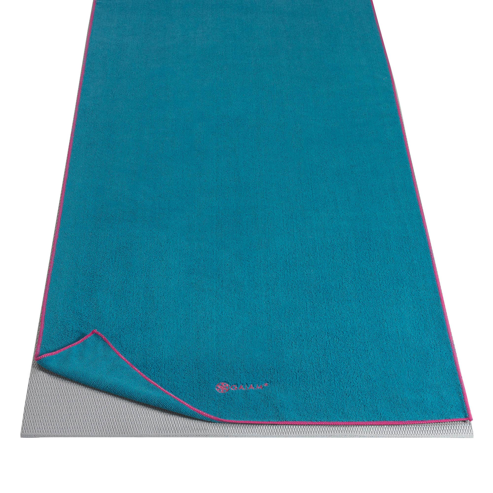 Amazon Com Gaiam Thirsty Yoga Towels Sports Amp Outdoors