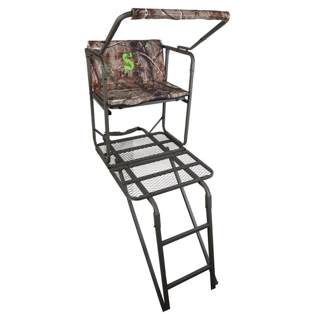 Amazon Com Summit Solo Pro Ladder Stand Hunting Tree