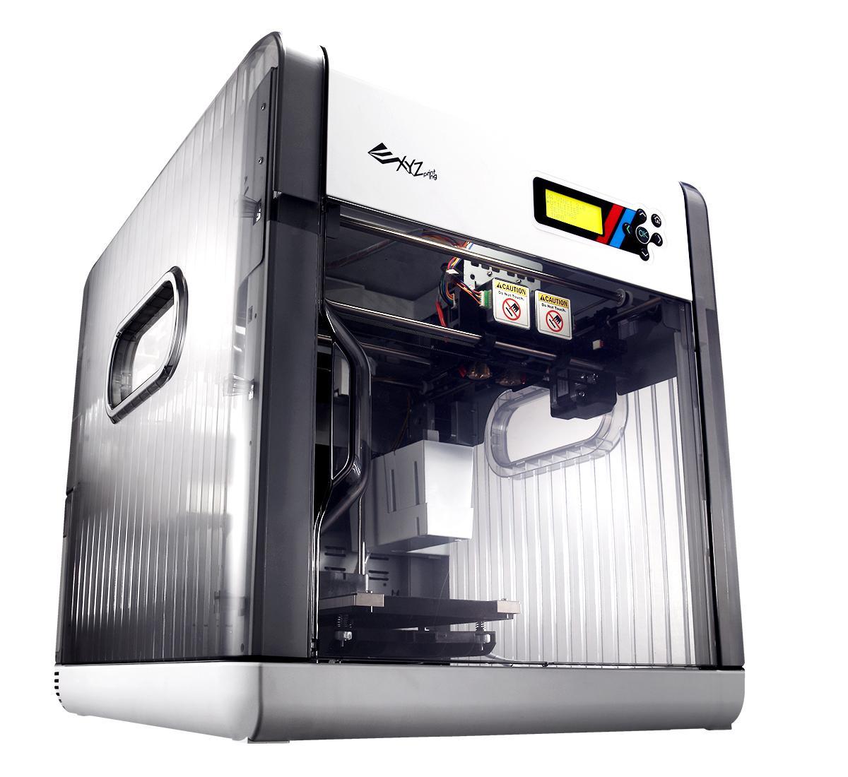 XYZprinting Da Vinci 2.0 Duo 3D Printer, Grey: Amazon.com
