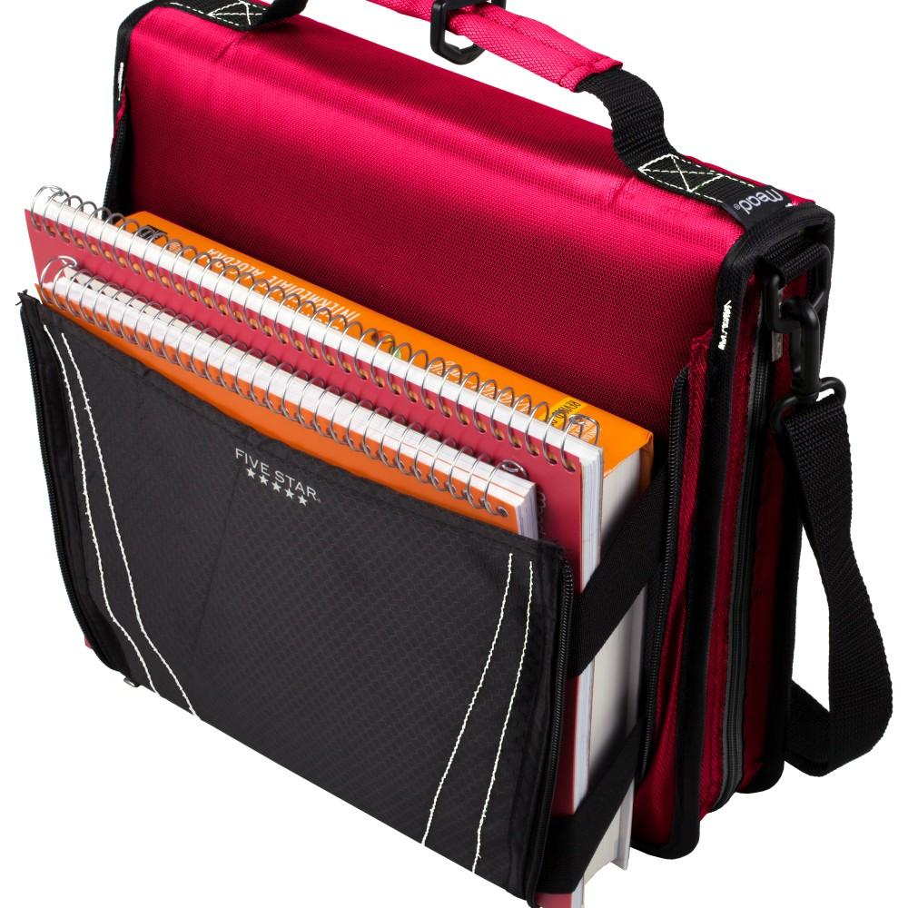 Amazon Com Five Star Zipper Binder With Expanding Pocket: Five Star, Binder, 2 In. Binder, Binder With Convertible Strap