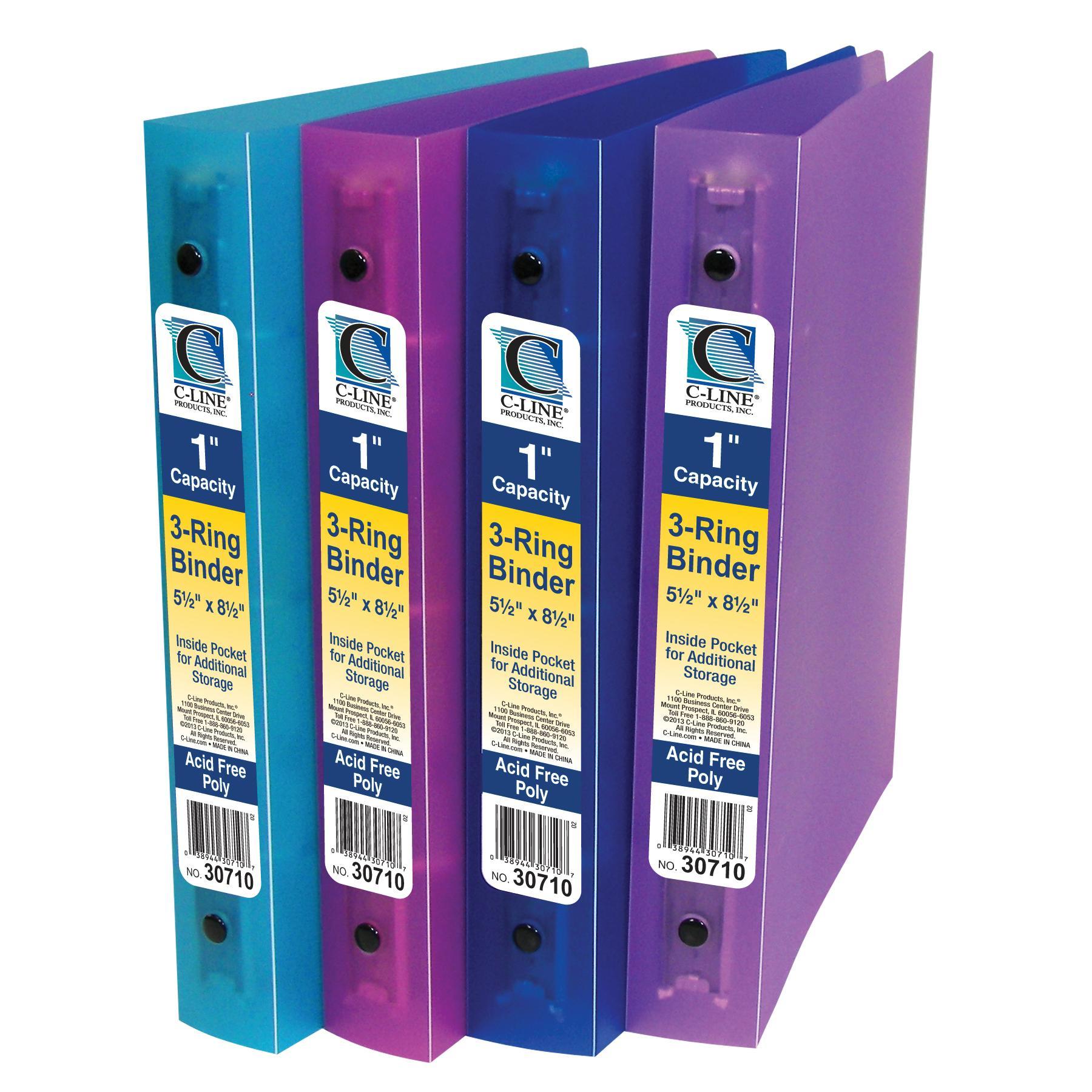Amazon.com : C-Line Mini Binder Starter Kit, Includes